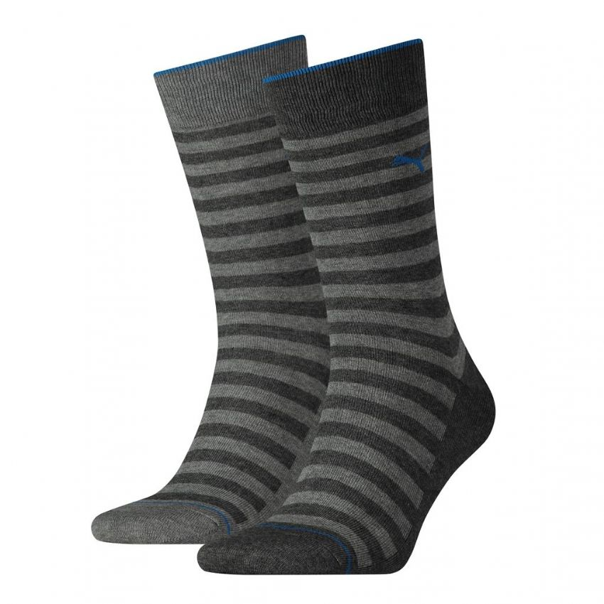 Puma Mens Classic Stripe Socks 2P